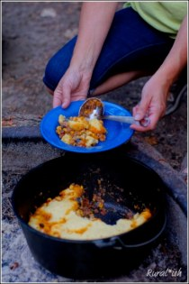 Dutch Oven Tamale Pie Recipe
