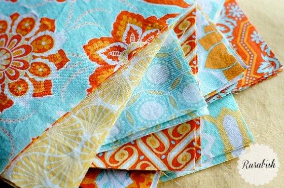 Rural*ish rag quilt squares